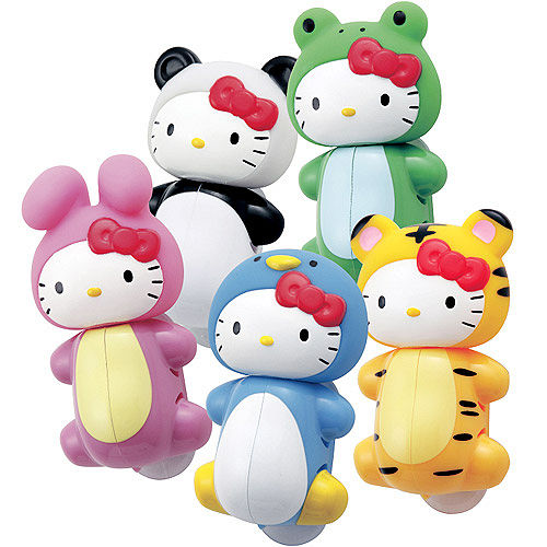Hello Kitty 造型牙刷架(5入)~全五款 一次擁有