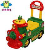《親親Ching Ching》快樂蛙火車學步車 (綠)