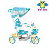 《親親Ching Ching》快樂蛙三輪車 (藍)