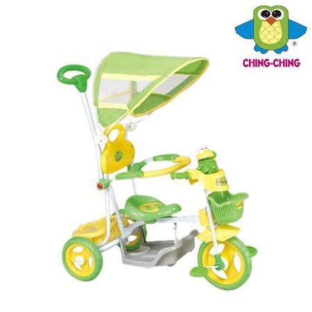 《親親Ching Ching》快樂蛙三輪車 (綠)