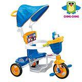 《親親Ching Ching》可愛企鵝三輪車 (藍)
