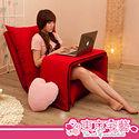 【東京宅藝】蕃茄嘟嘟五段式和室椅+和室桌(可選色)