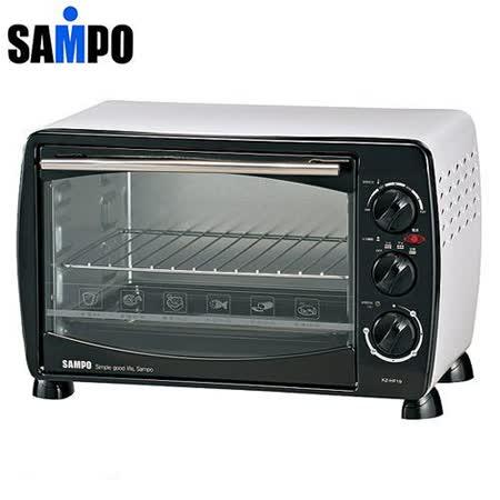 【網購】gohappy 線上快樂購『SAMPO』☆ 聲寶 19公升 中型烤箱 KZ-HF19 /KZHF19評價如何統領 百貨