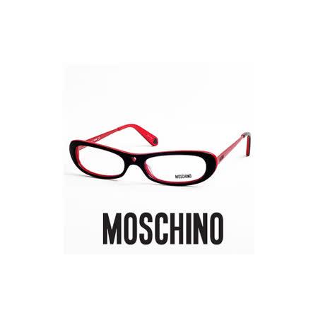MOSCHINO 時尚光學鏡框★鏤空紅心造型★紅 MO02203