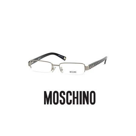 MOSCHINO 時尚光學鏡框★普普風造型鏡腳★黑 MO03701
