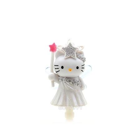 韓國進口SANRIO【魔法精靈Hello Kitty】耳機孔防塵塞
