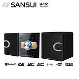 SANSUI山水 藍芽/數位DVD/DivX/USB音響(MS-655)