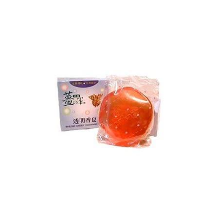 【任選】薑之軍透明香皂(100g/個)