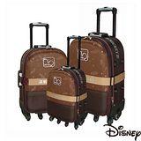 【迪士尼】典藏米奇旅行箱-3件組