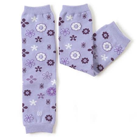 日本Leg'Woo襪套-花園(粉紫)