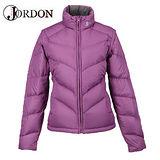 【橋登Jordon】女款 雙面脫袖羽絨外套 / 質輕.保暖.多樣穿搭.機能時尚 1072I -紫色