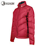 【橋登Jordon】女款 雙面脫袖羽絨外套 / 質輕.保暖.多樣穿搭.機能時尚 1072I -蜜紅