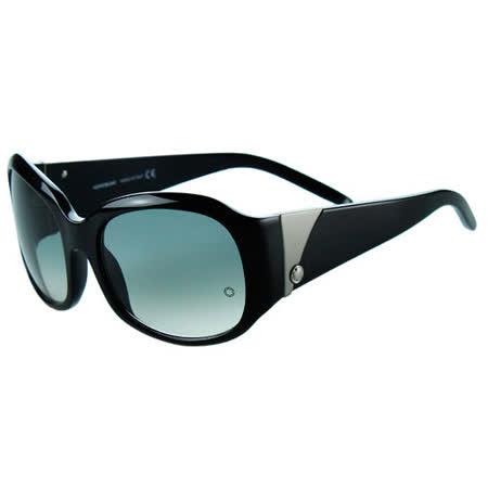 萬寶龍MONTBLANC-時尚太陽眼鏡(黑色)MB222S