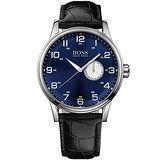 Hugo Boss 德式飛行員時尚腕錶-寶藍 H1512790