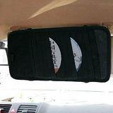 《E.City》【2入】汽車用CD遮陽板收納夾