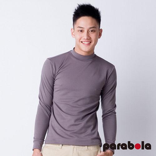 【3M-Parabela】發熱衣-男高領-灰色