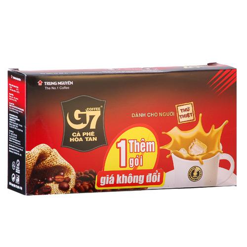 G7越南三合一咖啡16g^~20入