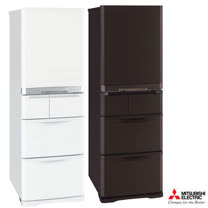 『MITSUBISHI』☆三菱 420公升日製五門變頻電冰箱 MR-B42T