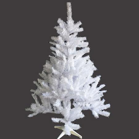 台灣製豪華型4呎/4尺(120cm)夢幻白色聖誕樹裸樹 (不含飾品不含燈)