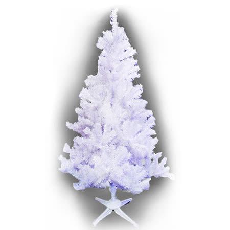 台灣製豪華型7呎/7尺(210cm)夢幻白色聖誕樹裸樹 (不含飾品不含燈)