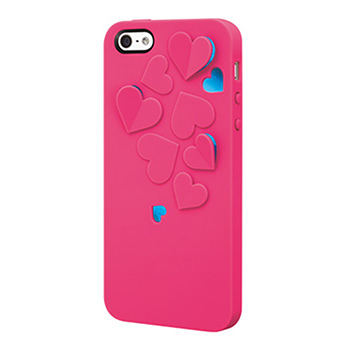 SwitchEasy Kirigami iPhone 5 蝴蝶|心型浮雕保護殼