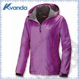 【Avanda 雅帆達】女新款 防風保暖外套 / 抗靜電.質輕.舒適.透氣.保暖 / AD12178 粉紫
