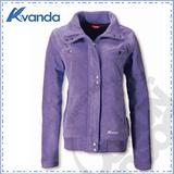 【Avanda 雅帆達】女新款 刷毛保暖外套 / 質輕.舒適.透氣.保暖 / AD12177 紫色