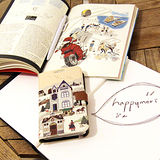 【Happymori】※Fairy tale book※ 側開手機皮套 可適用Galaxy Note2 N7100