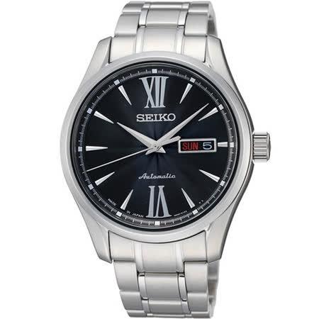 SEIKO PRESAGE 匠心4R36機械腕錶-黑 4R36-01L0D