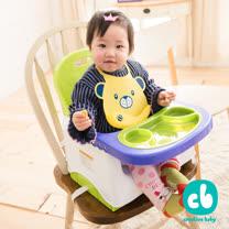 Creative Baby 創寶貝-攜帶式輔助小餐椅-蘋果綠(Booster Seat)