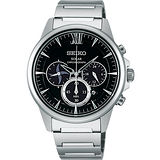 SEIKO SPIRIT SHINOBI忍者太陽能計時腕錶-黑 V175-0AV0D