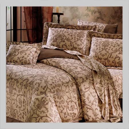 都邑人文.100%PIMA棉.80支棉.400支紗.標準雙人床罩組全套