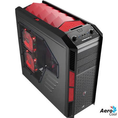AeroCool Xpredaror X3 電腦機殼 惡魔紅