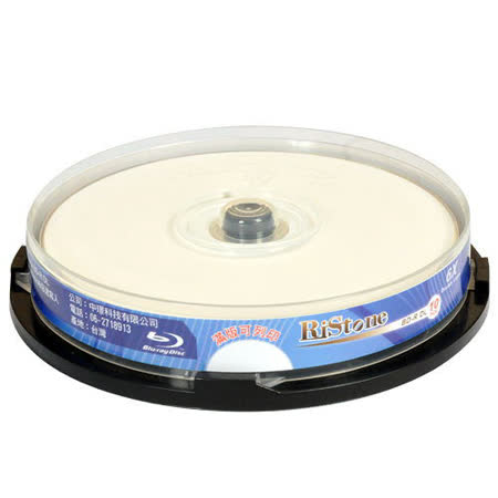 RiStone 日本版 藍光 6X BD-R DL 可印片 (10片)