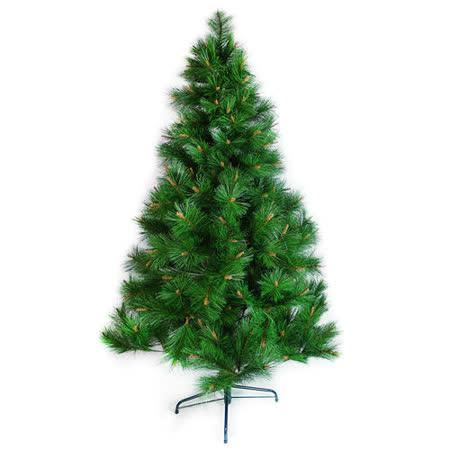 台灣製7呎/7尺(210cm)特級松針葉聖誕樹裸樹(不含飾品)(不含燈)
