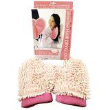 日式超細纖維乾髮手套(1雙)