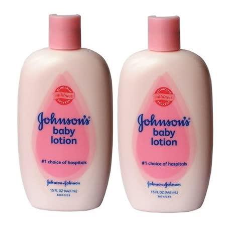 進口Johnson's嬰兒潤膚乳液-一般肌膚444ml二入組