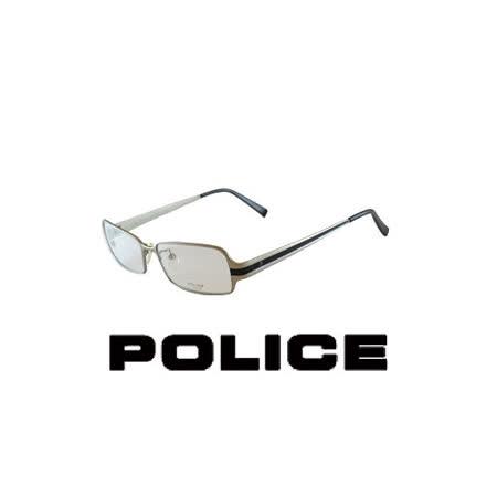 POLICE 輕量化近視平光眼鏡★鈦合金★ POV8221