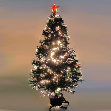 美麗多變浪漫 4尺/4呎(120cm) 光纖聖誕樹