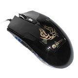 【KINYO】電競玩家專用USB有線光學滑鼠(GKM-801)