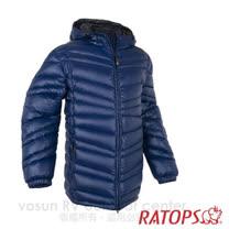 【瑞多仕-RATOPS】男20丹超輕羽絨衣.羽絨外套.保暖外套.雪衣. RAD354 (夜藍色/深藍色)