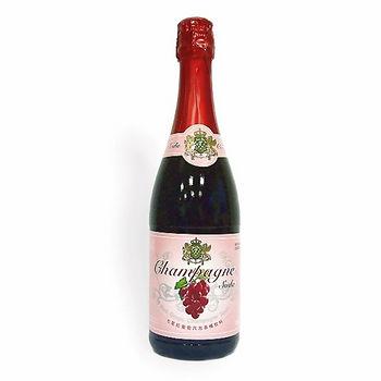七星紅葡萄汽泡香檳飲料750ml