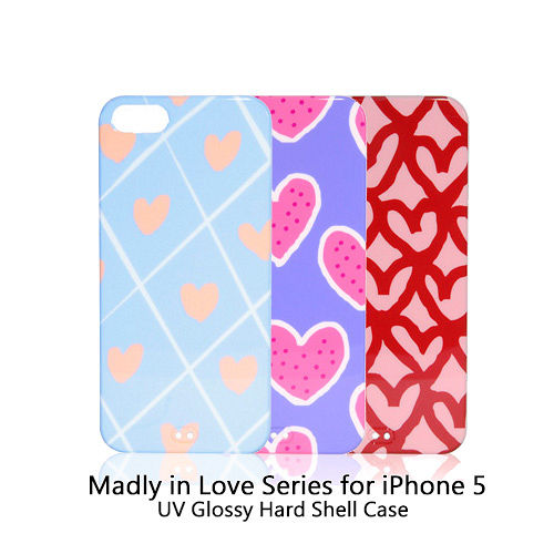 Uniea Madly in Love Series for iPhone 5 手繪彩殼保