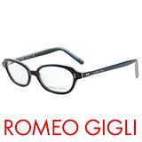 ROMEO GIGLI 復古造型近視平光眼鏡★英式典雅★黑 RG140442