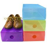 (超值20入)彩色抽屜鞋盒/置物盒