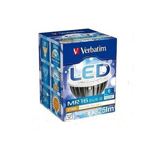 威寶 LED MR16 GU5.3 低壓射燈 6W 2V 2700K 暖白光色 (8入)