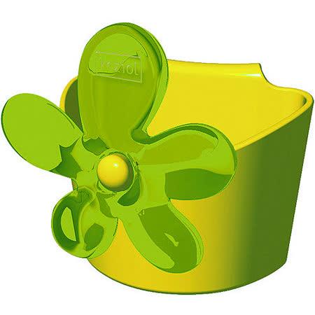 《KOZIOL》April花朵茶包架(綠)