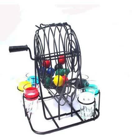 【PS Mall】BINGO 彩球喝酒遊戲機樂透搖獎機 夜店酒吧 (J1425)