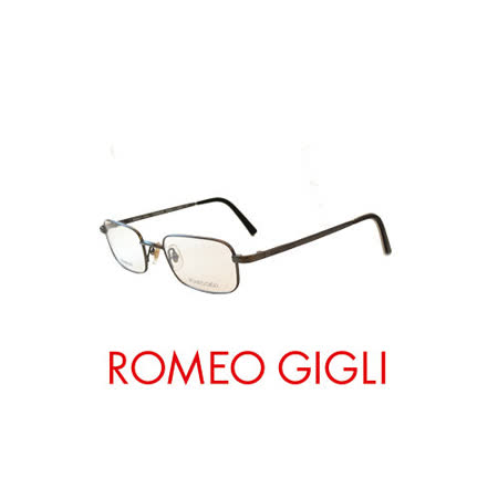 ROMEO GIGLI 復古輕量近視平光眼鏡★鈦合金★ RG150100