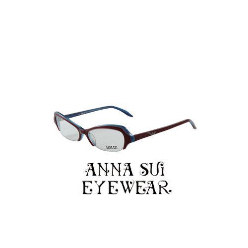 ANNA SUI 蝴蝶 近視平光眼鏡^(紫藍^) AS09802